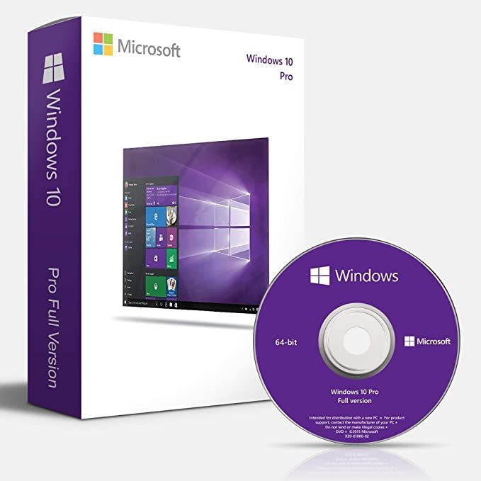 Windows 10 Professional Oem 64 Bit Dvd English Language Full Product Microsoft Windows Windows 10 Windows 10 Hacks