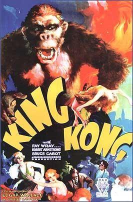 King Kong (1933) EEUU. Dirs.: Merian C. Cooper e Ernest B. Schoedsack. Aventuras. Fantástico. Cine dentro do cine. Stop motion - DVD CINE 403-I