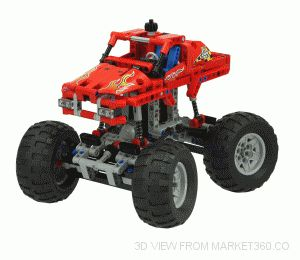 Lego Technic Moster Truck 42005