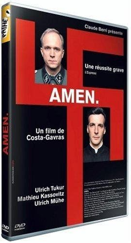 Amen, Director Costa-Gavras. Wow. WHAT a film! It was a 2003 César Nominee for Meilleur Film (Best Feature Film) and Meilleur Réalisateur (Best Director). It offers some plausible explanations for how Nazi Germany could have gone as far as it did with the extermination of its victims before it was stopped. Unsettling because it could happen again, human nature being what it is ...