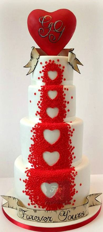 wedding cake with hearts best 20 wedding cakes ideas on 26905
