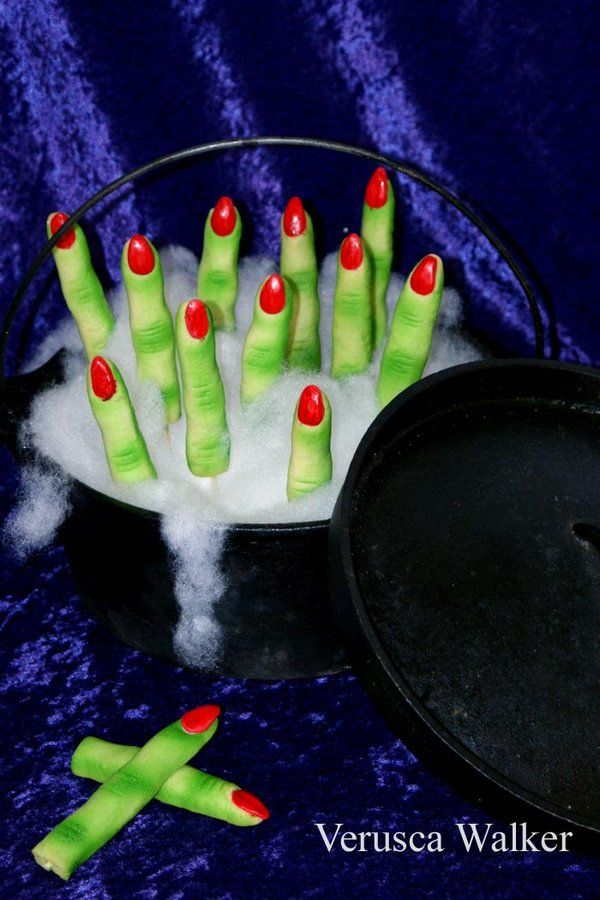 Halloween Finger Cookies