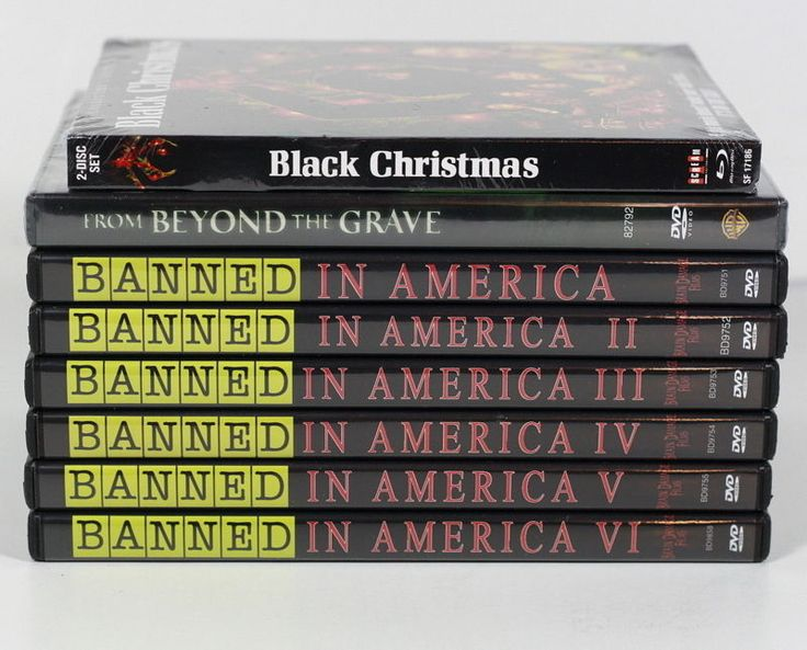 LOT 8 HORROR DVD MOVIES BANNED IN AMERICA x 6, BLACK CHRISTMAS, BEYOND THE GRAVE