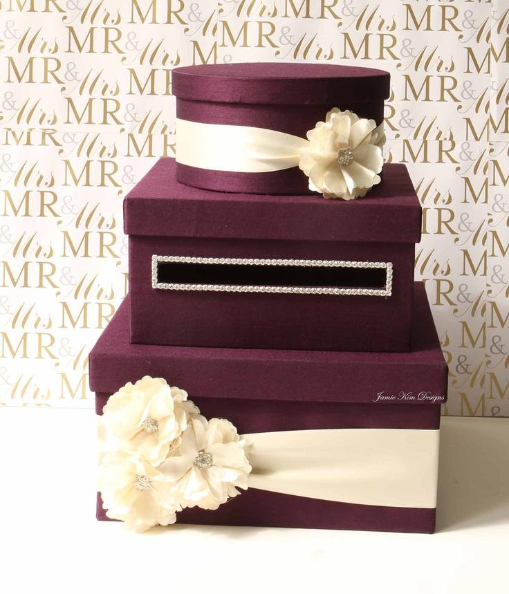 Wedding Card Box and Program box set