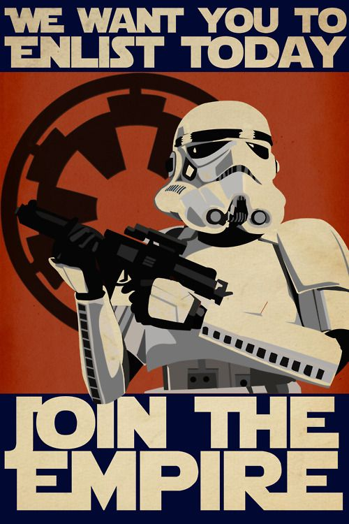 Star Wars - Join the Empire...