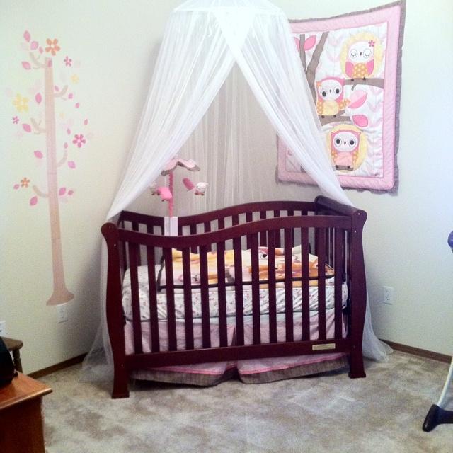 17 best ideas about canopy over crib on pinterest - Decoracion cuarto bebe ...