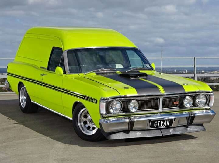 Australian Ford Falcon GT Panel Van