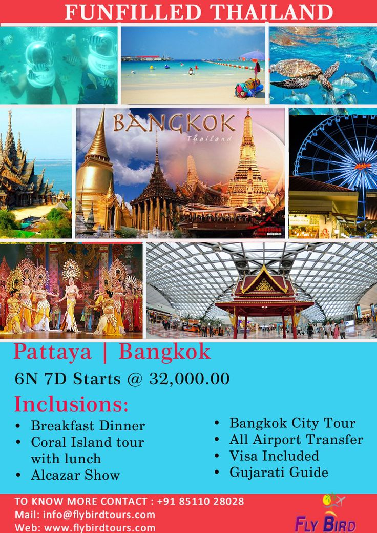 Funfilled Thailand. With flybirdtours.com