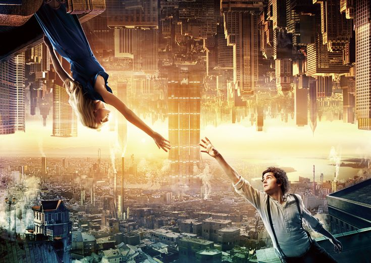 "This is a poster of a film named ""Upside Down"". When I watch this, I remembered again that love is the most beautifull way to show your courage."