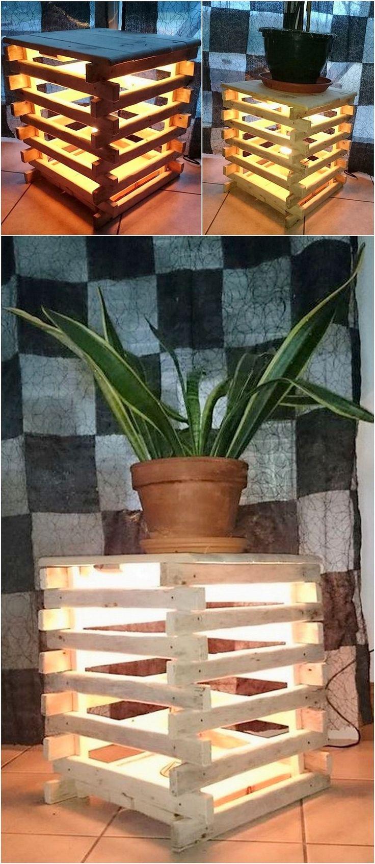 Stunning Wooden Pallet Recycling Ideas