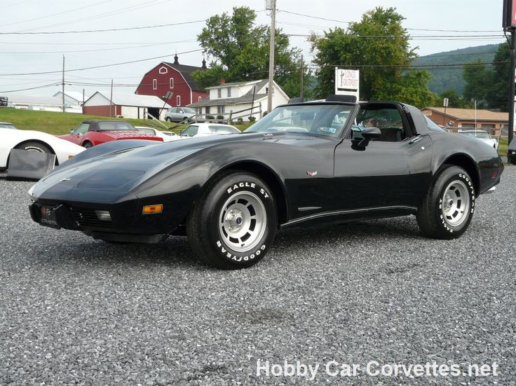 Corvette C3 For Sale >> 1979 Black Corvette L82 T-Top -- Classic C3 Corvettes for sale at Hobby Car Corvettes | Classic ...