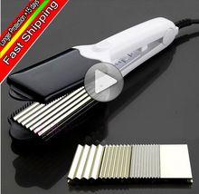 W503 Alisador de Cabelo Profissional de titânio modelador de cabelo em cerâmica curling ferro plana ferros alisamento 4 em 1 ferramentas de estilo alishoppbrasil