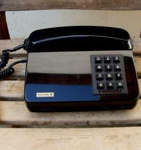 Telefone Antigo Ericsson Black.