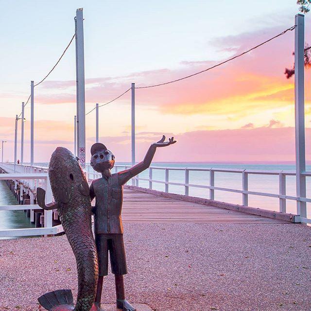 ♡ Friendship Pier ❤ What a beautiful morning here in hervey bay Brisbane, Queensland, Australia @australia @queensland @visitfrasercoast #seeaustralia #thisisqueensland #visitfrasercoast . . . . . #herveybay #sunrise #theimaged #long_exposure #longexposure #longexposure_shots #longexpoelite #longexpo_addiction #water_captures #photooftheday #Instagram #watchthisinstagood #travel #theweekoninstagram #photography #earthfocus #gramslayers #canonaustralia #water_perfection #exploringaustralia…