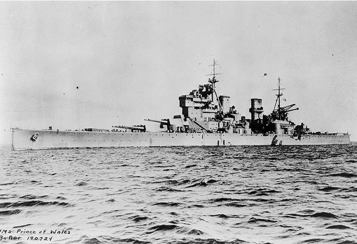 KING'S LYNN: Amazing story of how a British battleship was sunk by Japanese aircraft during WW2