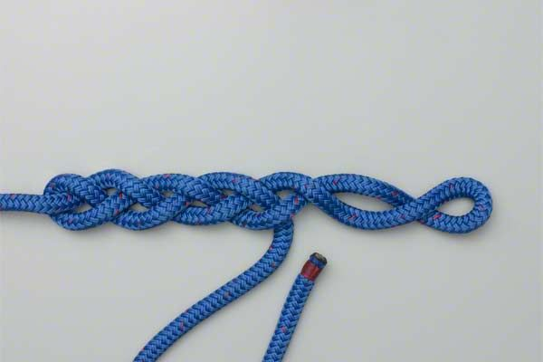 link for braiding a single rope,
