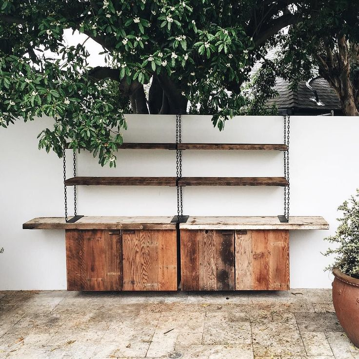 Floating barnwood poolside shelving and cabinets co-designed with @jakealexanderarnold - - - - - - - - - - #sparkanddowel #custom #furniture #wood #metal #work #woodwork #carpentry #fabrication #welding #reclaimed #midcentury #madeinamerica #madeinusa #losangeles #california #madeinLA #handmade #love #luxury #bespoke #customfurniture  #slab #liveedge #vintage #spiral #stairs de sparkanddowel