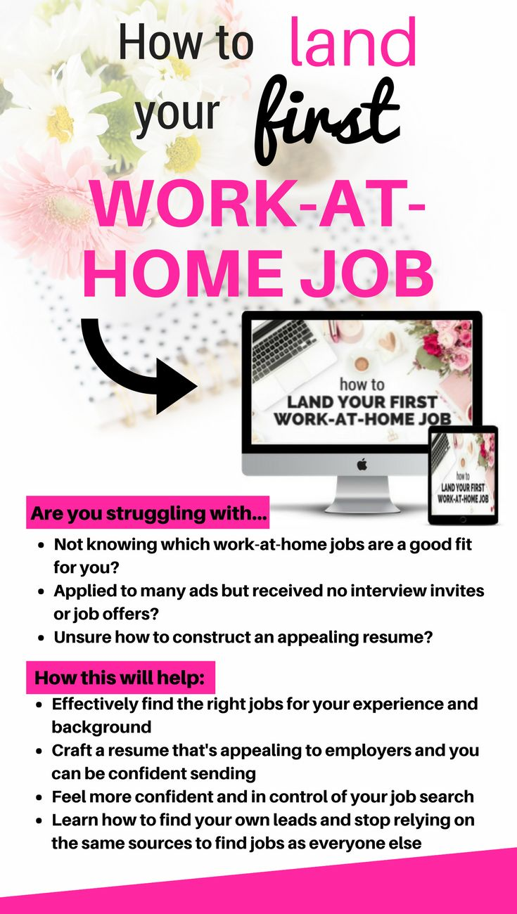 Angie imparts her knowledge and experience on how to get your first work at home job. Perfect for work at home moms and those who would like to earn extra cash – learn some tips on sussing out the legimate jobs from the rest. Learn resume tips to craft your perfect resume as well as job interview tips and effective job search tips that won't have you relying on the usual job search websites. #Afflink