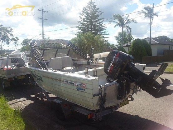 1996 STACER 4.44M KINGRAY DELUXE RUNABOUT