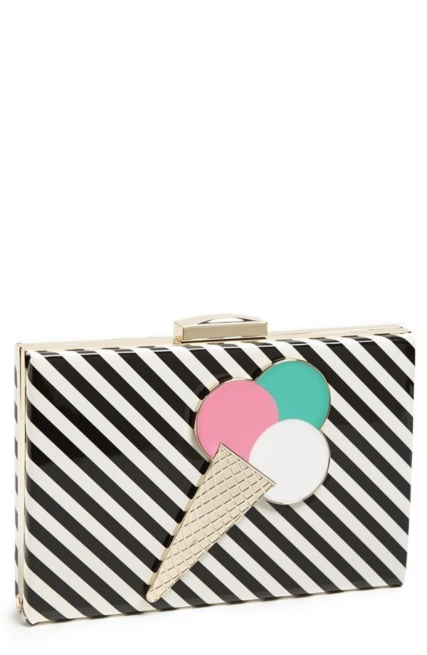 Yummy! Ice-cream clutch by Kate Spade