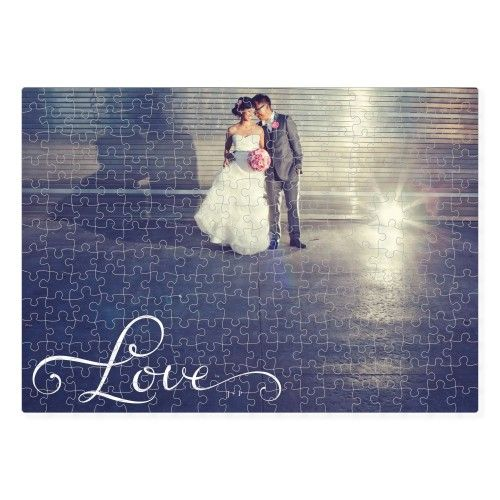Hand-Lettered Love Puzzle | Custom Puzzles | Shutterfly