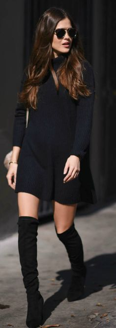 17 Best ideas about Casual Black Dresses on Pinterest | Fall ...