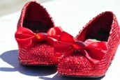Oh snap. Replicas of the ruby slippers from Return to Oz. I need to sleep.