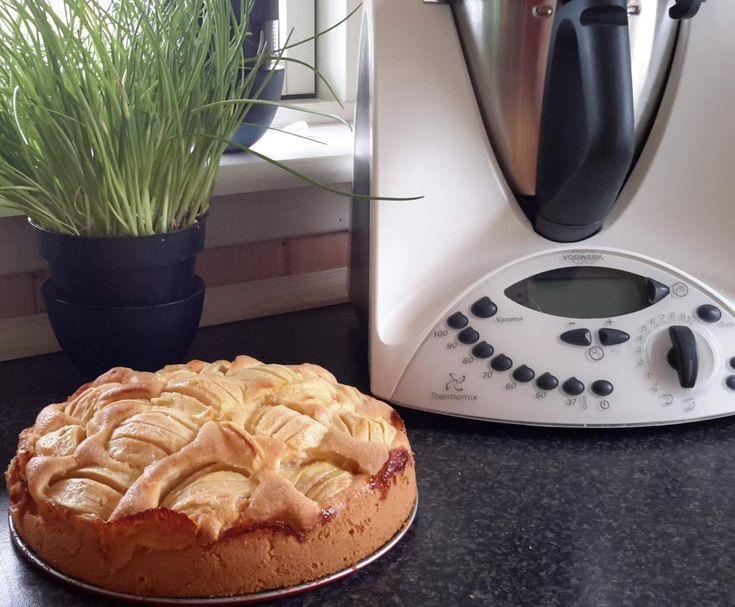 Rezept Apfelkuchen schnell gemacht von Tina 65 - Rezept der Kategorie Backen süß