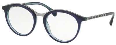 Chanel Optical Frame CH3349Q-1576 in violet. Fly on me. Yes indeed. #glasses