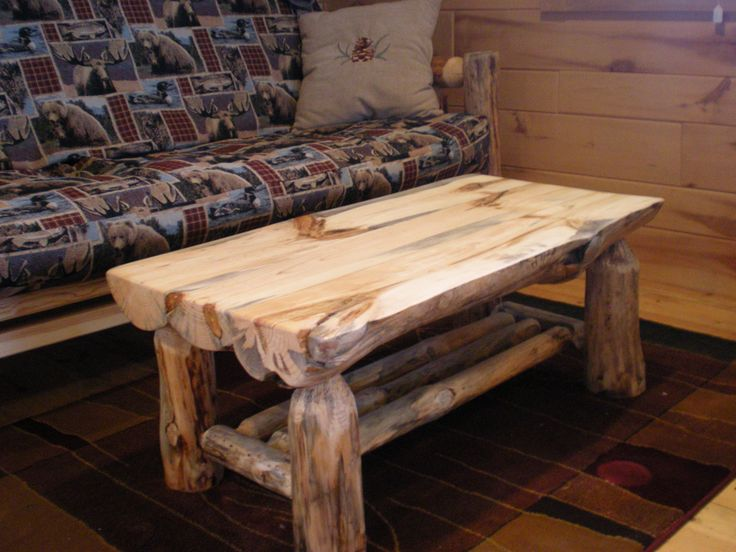 Half Log Coffee Table...