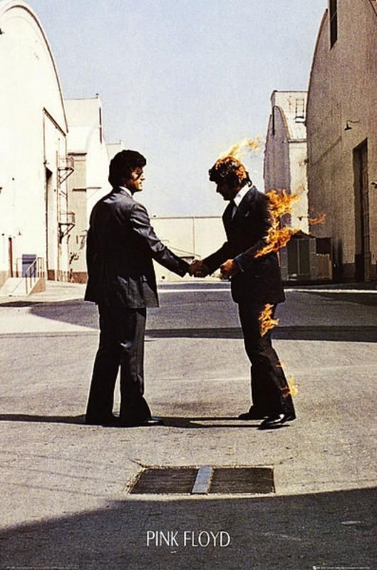 Pink Floyd : Wish You Were Here - Maxi Poster 61cm x 91.5cm new and sealed