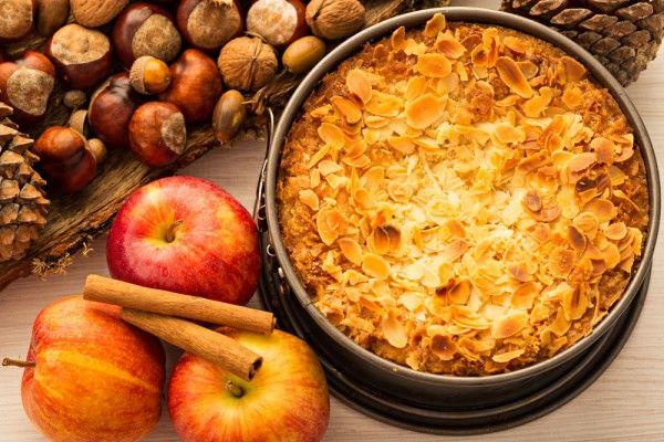 Шведский яблочный пирог, ссылка на рецепт - https://recase.org/shvedskij-yablochnyj-pirog/  #Выпечка #блюдо #кухня #пища #рецепты #кулинария #еда #блюда #food #cook
