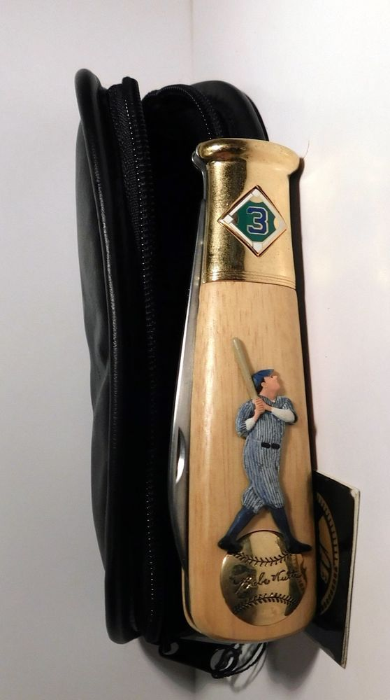 Babe Ruth New York Yankees Franklin Mint Collector Knife w/ Case 1996  #FranklinMint