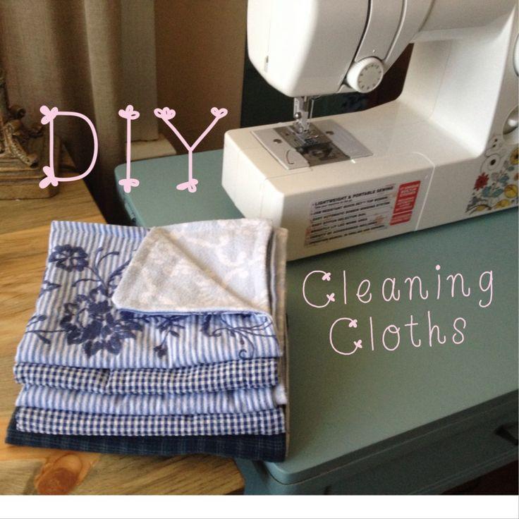 DIY Cleaning Cloths