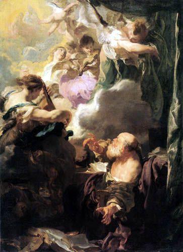 Johann (Jan) Liss (Lys, Lis) - The vision of St Paul