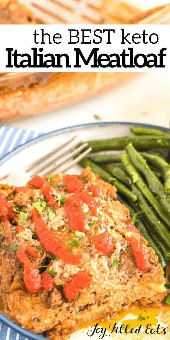 Easy Keto Italian Meatloaf Recipe Low Carb Grain Gluten Free Thm S Keto In 2020 Ground Turkey Meatloaf Turkey Meatloaf Recipes Meatloaf Recipes