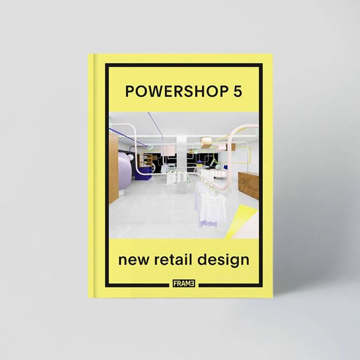 OUT NOW! Powershop 5 delves into the worldwide exploration of the latest leading retail design.