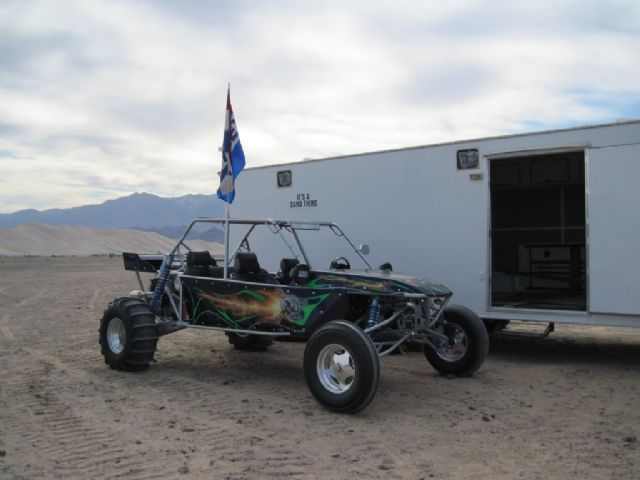 2005 MB SAND CAR 4 Seater Sand Rail , SILVER /PURPLE for sale in ACTON, CA
