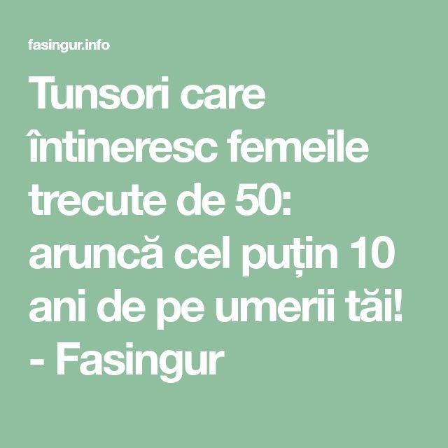 Tunsori care întineresc femeile trecute de 50: aruncă cel puțin 10 ani de pe umerii tăi! - Fasingur