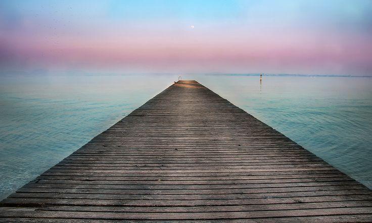 Purple Moon Horizon (see links) by Luca Lorenzelli on 500px