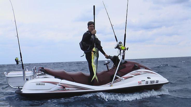 Modified Yamaha Suv 1200 Jetski Fishing Wave Runner