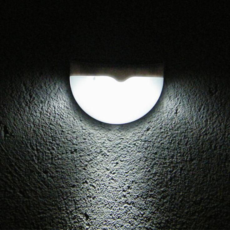 6 LED de Energía Solar Luz Del Sensor de Luz Al Aire Libre Garden Party Decoración de La Cerca de La Lámpara de Pared Impermeable Luces LED