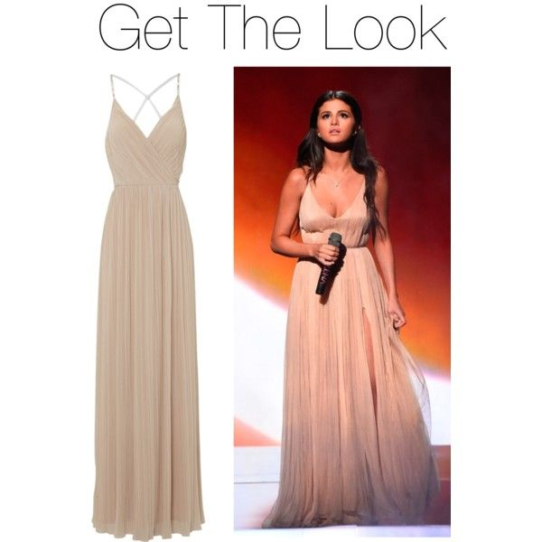 Get The Look - Selena Gomez AMA Performance #Polyvore
