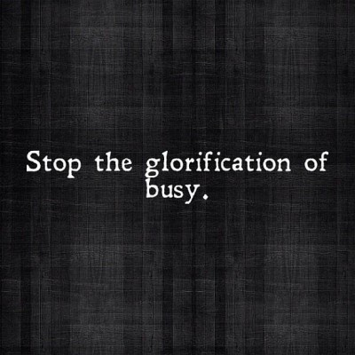 Glorifisering av stress | ~SerendipityCat~