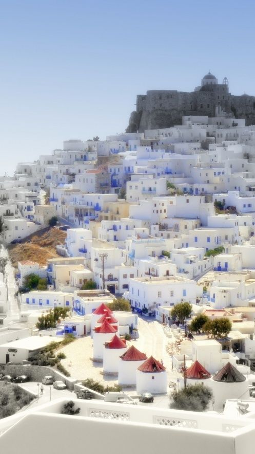 Greek Island Of Stampalia