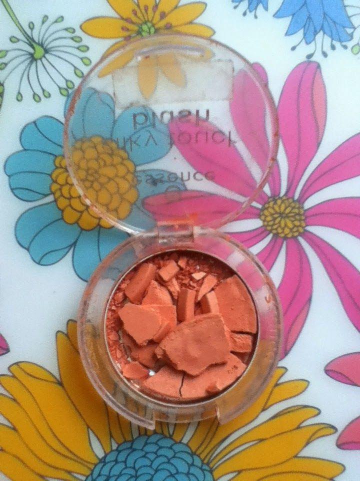 Nat Fashion Diary: Jak uratować pokruszony cień/ puder/ róż..? Commen...
