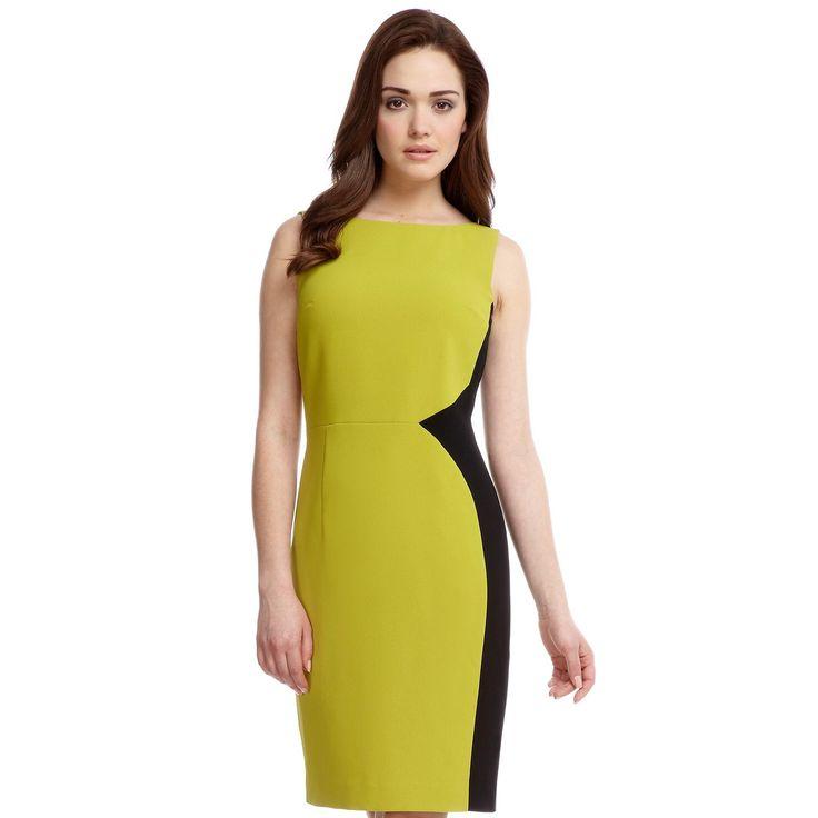 Minuet Petite Colour Block Crepe Dress- at Debenhams.com