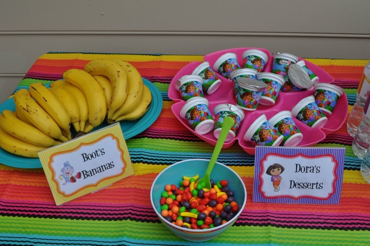 357 Best Images About Dora Birthday Party On Pinterest Pink Candy Bars Dor