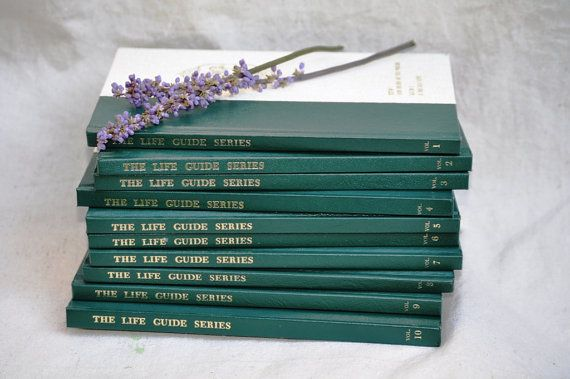 MidCentury Book Collection Set of 10 Instructional Books/ The Life Guide Series 1960's