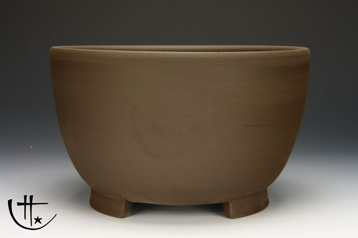 Cascade Bonsai Pot, unglazed - Potter: Roman Husmann
